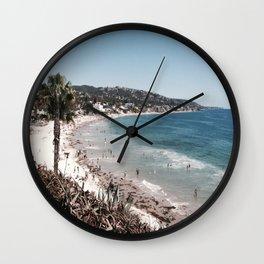 Crescent Bay Wall Clock