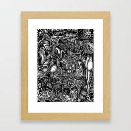 Mental Vomit 2 Framed Art Print