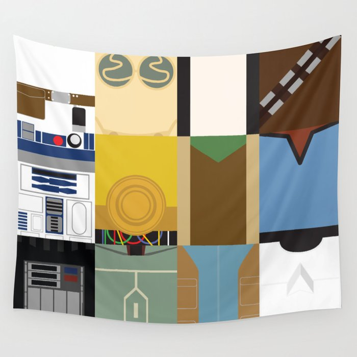 Star Wars Wall Tapestry by ese51 | Society6