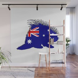 Australian Flag - Porcupine Wall Mural