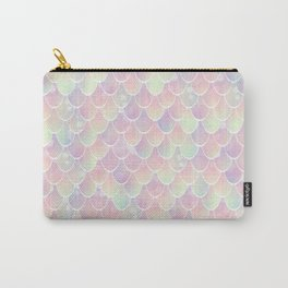 Mermaid, Pastel Rainbow Carry-All Pouch