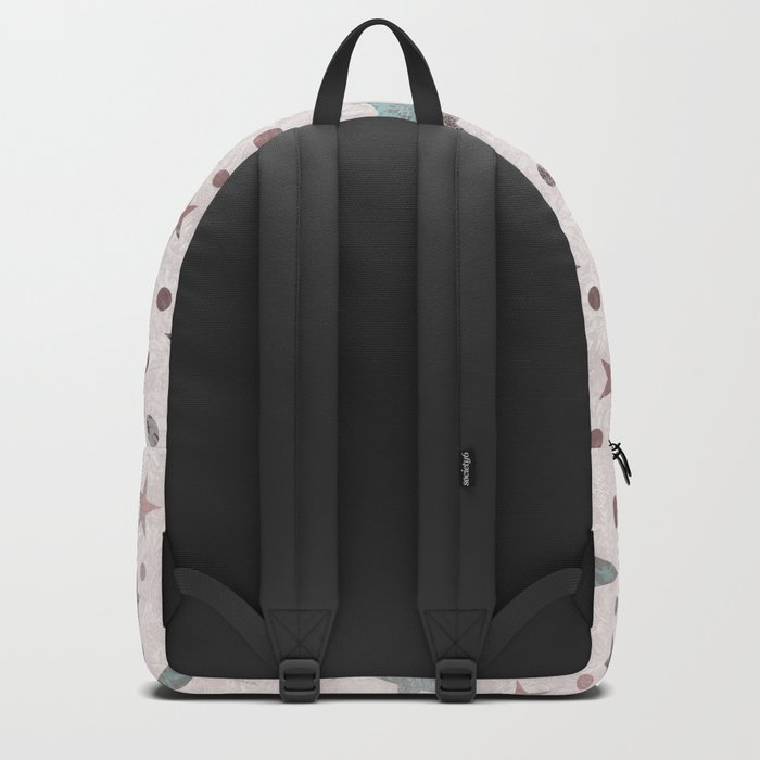Pink Patchwork Stars Backpack