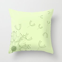 Freedom On The Breeze Throw Pillow