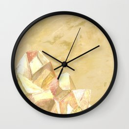 The Sun Goddess Wall Clock