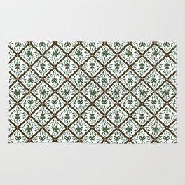 Batik Sido Luhur - Authentic Traditional Pattern Rug