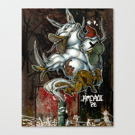 Makeshift Beaks Canvas Print