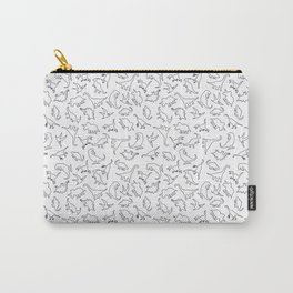 Dinosaurs Outline Pattern Carry-All Pouch