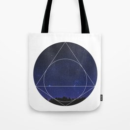 Magical Universe - Geometric Photographic Tote Bag