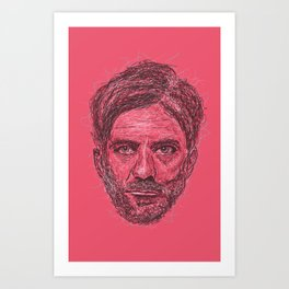 Paul Thomas Anderson Art Print