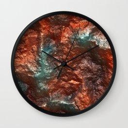 Sparkling marbled Gemstone 11 Wall Clock