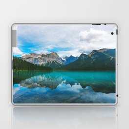 The Mountains and Blue Water - Nature Photography Laptop & iPad Skin