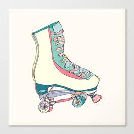 Roller Skate Canvas Print