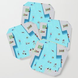 Crisp cut swim Coaster
