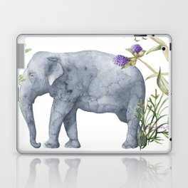 Elephants On Parade Illustration - Bagaceous Laptop & iPad Skin