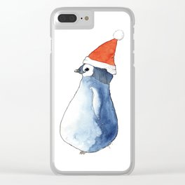 Pingouin Clear iPhone Case