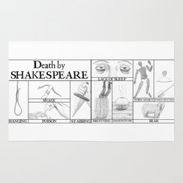 Death by Shakespeare Rug