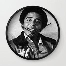obama smoking happy life Wall Clock