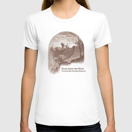 Once Upon the River (Ticonderoga Falls) T-shirt