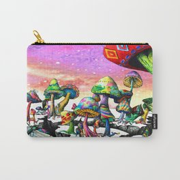 Mushroom Paradise Carry-All Pouch
