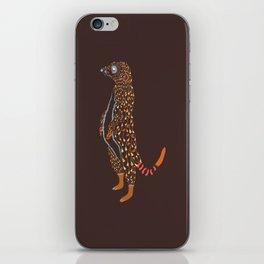 Abstract Meerkat iPhone Skin