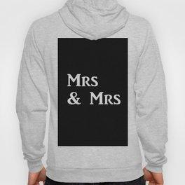 Mrs & Mrs Monogram Hoody