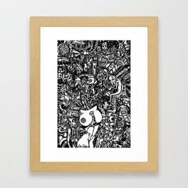Overt Stimulants Framed Art Print
