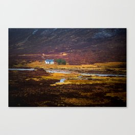 Tiny White House Canvas Print