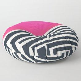 Labyrinth Floor Pillow
