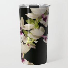 Calanthe rosea Orchid Travel Mug
