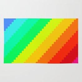 Pixel Rainbow Dreams Rug