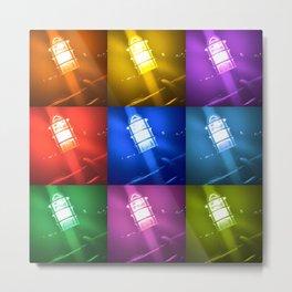 Bright Lights Metal Print