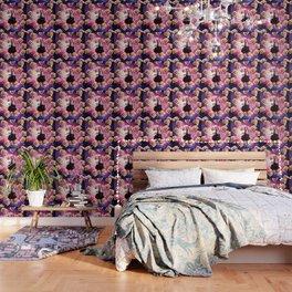 Thug Space Cat On Ostrich Unicorn - Burger Wallpaper