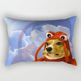 Lobster Corgi Rectangular Pillow