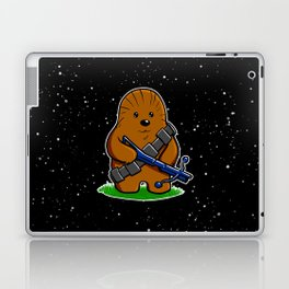 Galactic Teddy Bear Laptop & iPad Skin