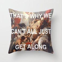Putting Shame In Your Conversion Throw Pillow