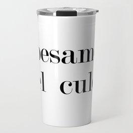Besame Travel Mug