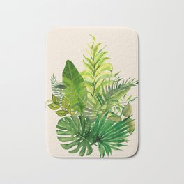 Leaves 1 Bath Mat