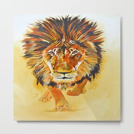 Relentless Pursuit Metal Print