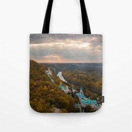 Holy Mountains Monastery (Ukraine) Tote Bag