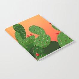 Prickly Pear Desert Sunset Notebook