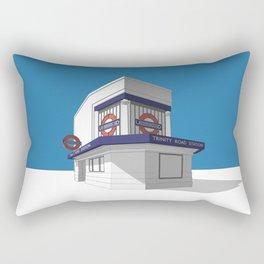 Trinity Road (Tooting Bec) Rectangular Pillow