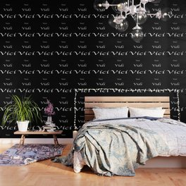 Veni Vidi Vici Black Wallpaper