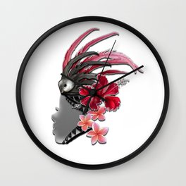 vahine Wall Clock
