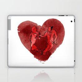 Colgada de Corazon Laptop & iPad Skin
