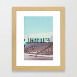 VERNON Framed Art Print