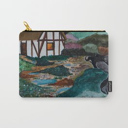 Unwelcome Visit Carry-All Pouch