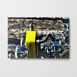 HDR Bucket Roadster Engine Metal Print
