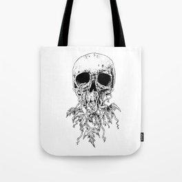 Vinyard Skull Tote Bag