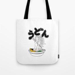 Udon Girl Tote Bag