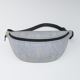 Opal Feathers Fanny Pack